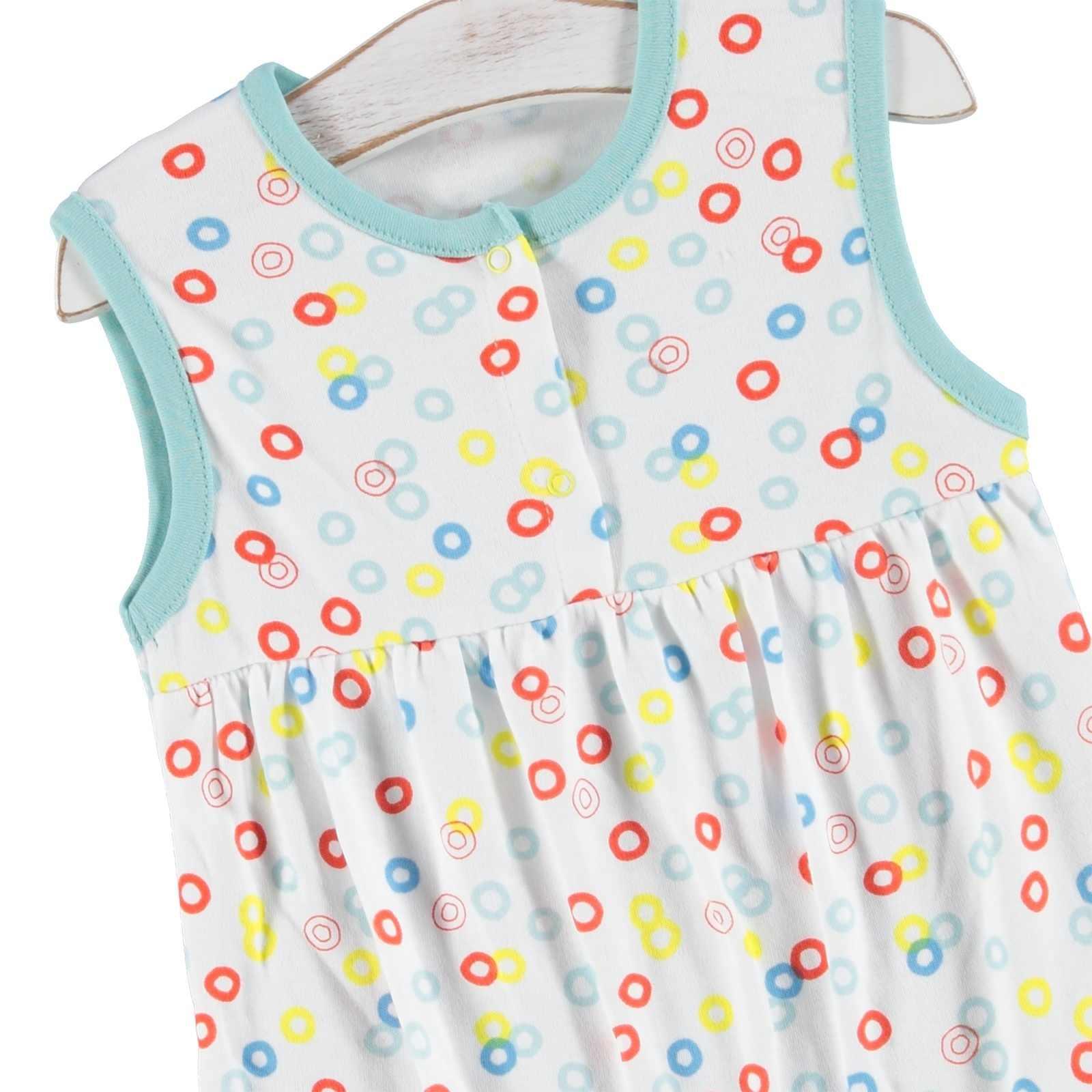 Ebebek יילוד אופנה מועדון כיף קיץ תינוקת סרבל