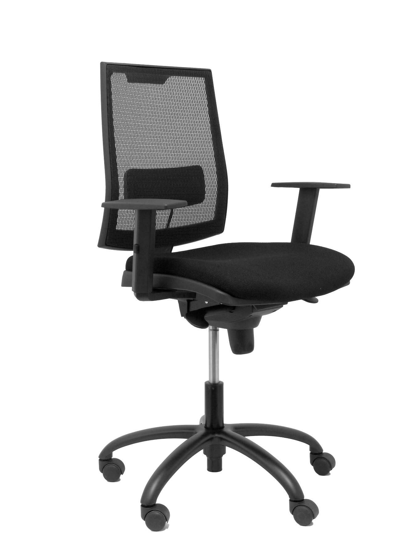 Ergonomic Office Chair With Mechanism Synchro, Arms Dimmable And Adjustable Height-Backing Mesh Transpire
