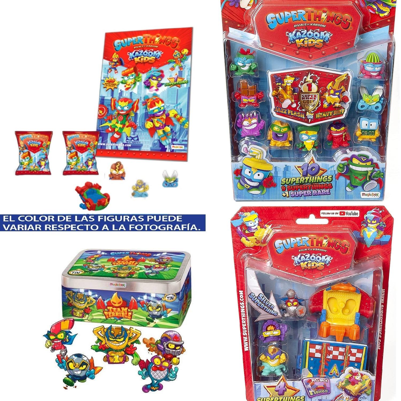 SuperThings Pack 4 Para Inciar Su Coleccion(Nuevos Superzings De Series 7)|Figuras de acción| - AliExpress