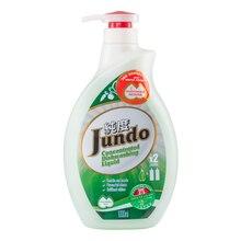 Jundo Концентрированный ЭКО гель с гиалуроновой кислотой для мытья посуды и детских принадлежностей «Green tea with Mint», 1л