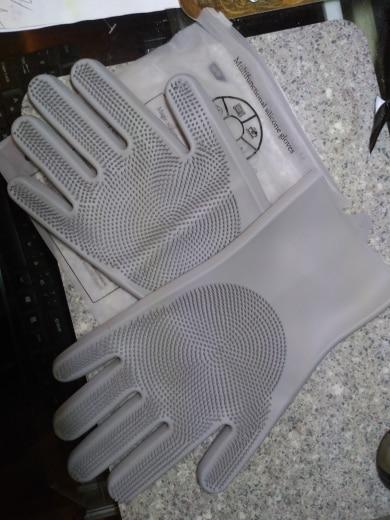 Dishwashing Gloves Washing Latex Gloves photo review