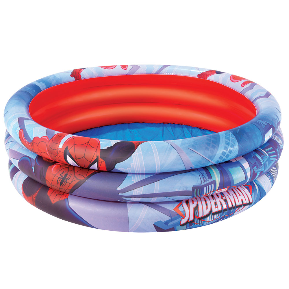 Bestway Spider-Man Swimming Pool Inflatable, PVC, 122 х30см, 200l, From 2 Years,
