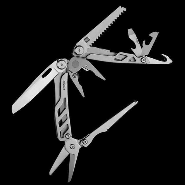 XIAOMI MIJIA HUOHOU portable multi function folding knife multi tool survival tool keychain tool outdoor supplies
