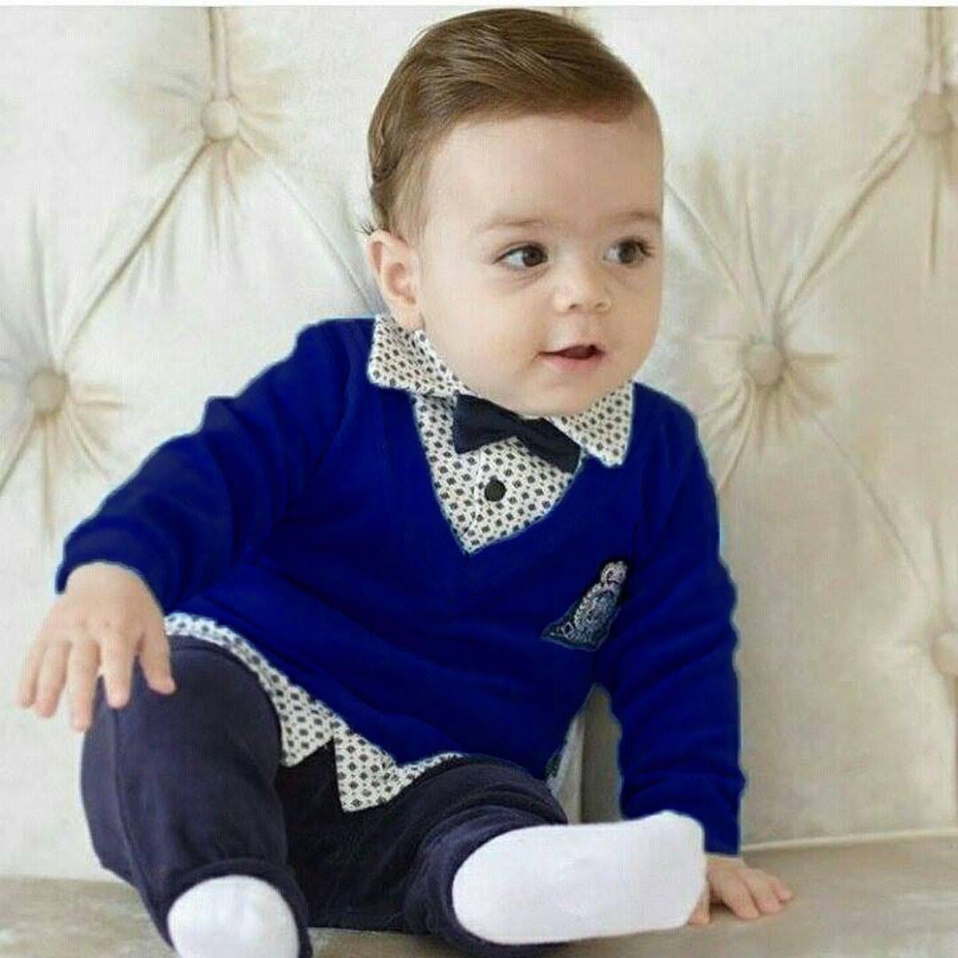 Lux Crested Papyonlu Pantaloons 2 Li Baby Boy Suits Kids