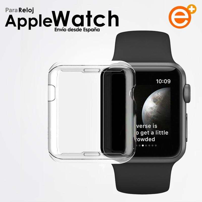 Совместимость screen Protector чехол для Apple Watch iWatch серии 1 / 2 / 3 / 4 / 5 / 38 / 40 / 42 / 44 мм термополиуретановый гелевый Чехол