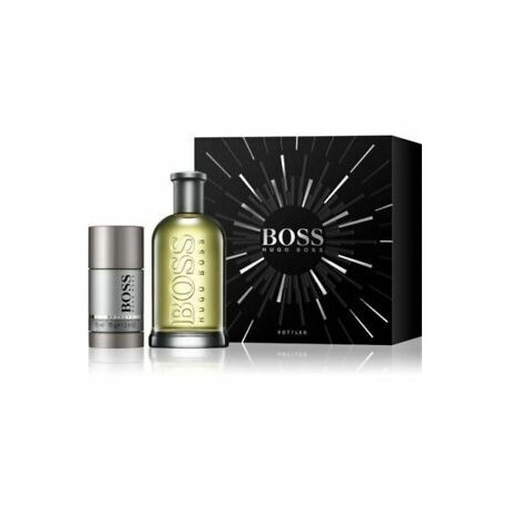 HUGO BOSS BOTTLED EDT 75ML 200ML + DEODORANT STICK