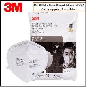 50 sztuk/partia 3M KN95 9502 +/9501 + anti-cząstek stałych Anti PM2.5 Smog ochronne przemysłowe pyłu grypy wirusa maska
