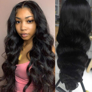 Image 3 - Body Wave Lace Front Human Hair Wigs Brazilian 30 32 Inch Body Wave Wig 360 HD Lace Frontal Wig For Black Women Queen Hair Wigs