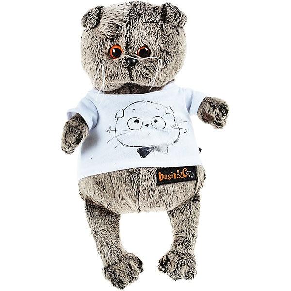 Morbido giocattolo Budi Basa Gatto Basik t shirt con stampa Viso