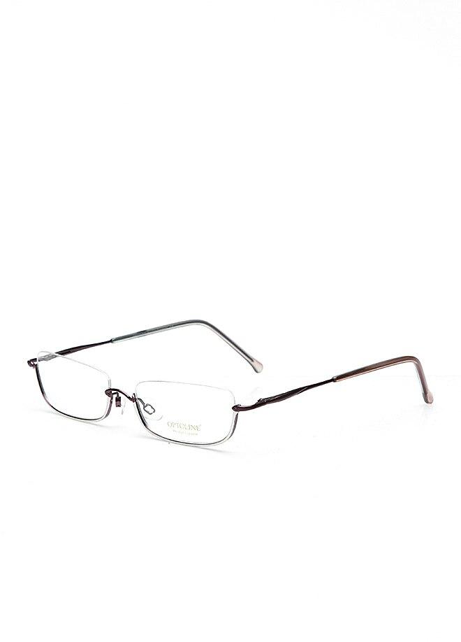 Markamilla Women Reading Glasses Frame Demo Glasses Eyewear Transparent High Quality WomenOptoline F-S 3666 LA
