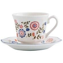 Set of Mugs with Saucers Churchill Bengal (4 pcs) 16 cl