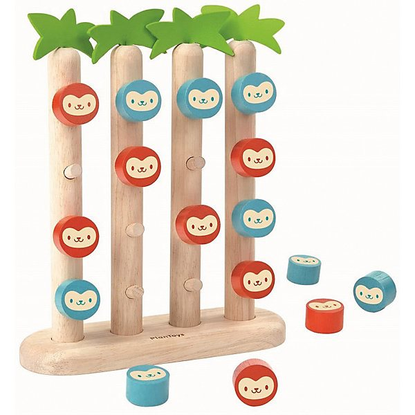 Game board Plan Toys Four monkey in a number of game board plan toys бобёр and брёвнышко
