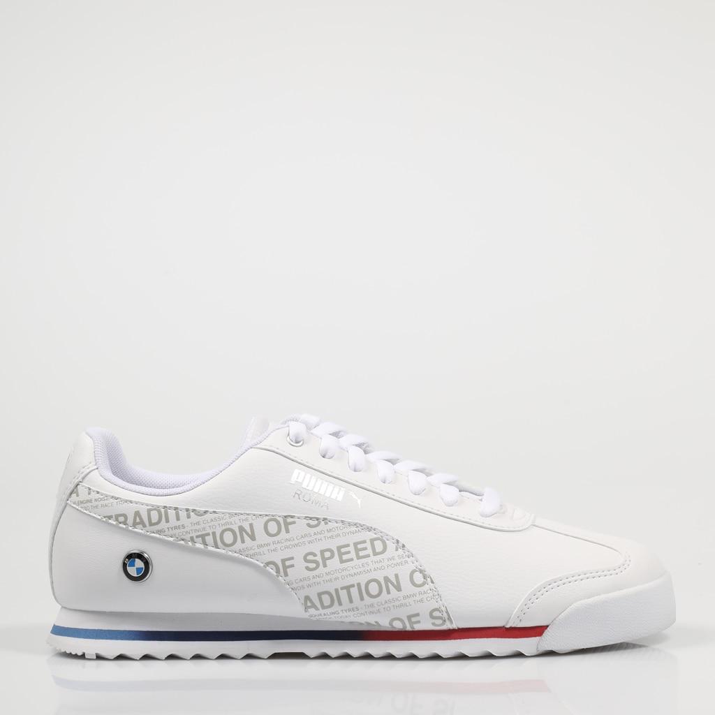 Zapatillas Puma BMW MMS ROMA 74408 421010074408 en Blanco White Leather Fabric 2021|Zapatos informales de hombre| - AliExpress