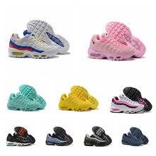 2021 nuevo gran oferta Max 95 gris oscuro de las mujeres de los hombres zapatos Zoom Negro estilo dinámico diseñador deportes talla de zapatillas 36-46