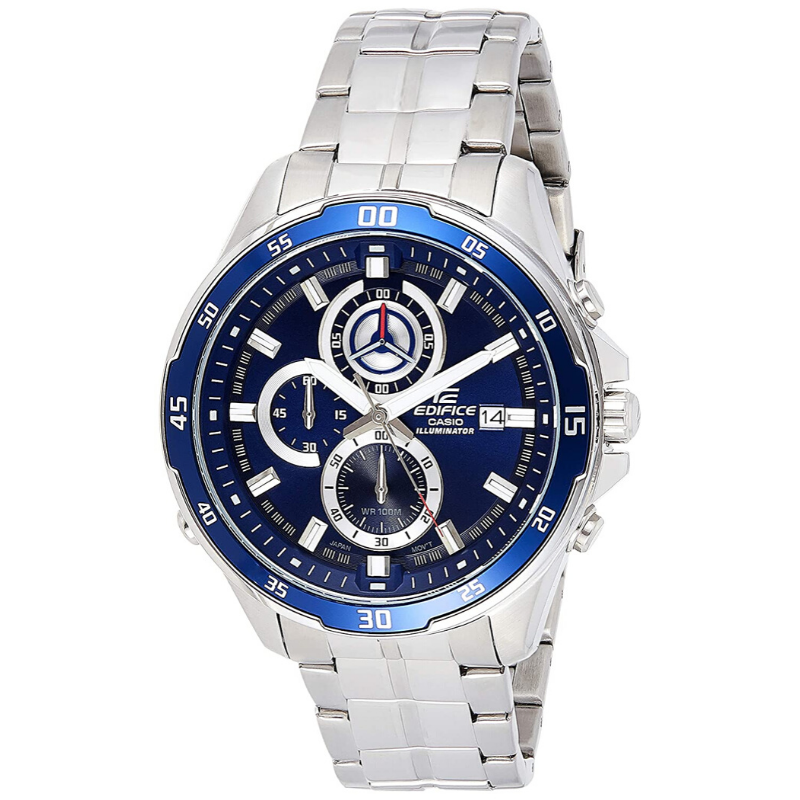 Casio Original Men Watches Fashion Brand Luxury Waterproof Quartz Technology Men Edifice Steel Casual Watch Chronograph EFR-547D