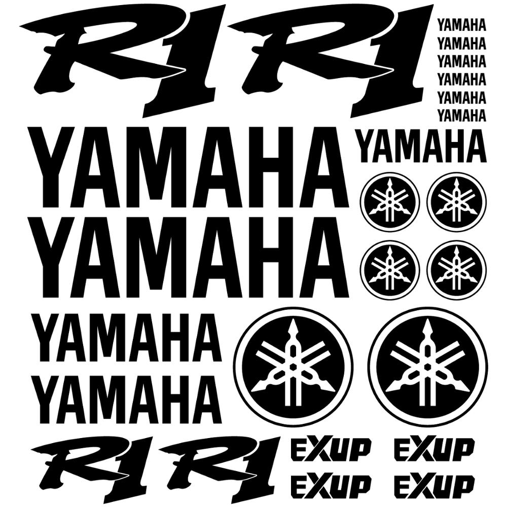 Yamaha YZF R1 용 키트 범퍼 비닐 스티커-데칼