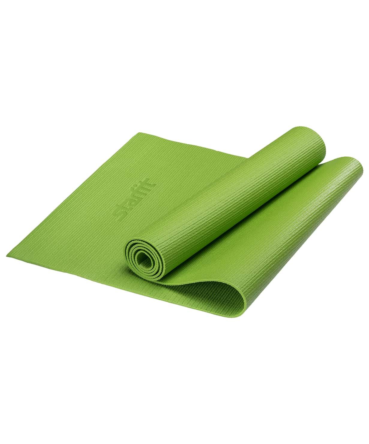 Коврик для йоги FM 101, PVC, 173x61x0,8 см (Зеленый)|Коврики для йоги| | АлиЭкспресс