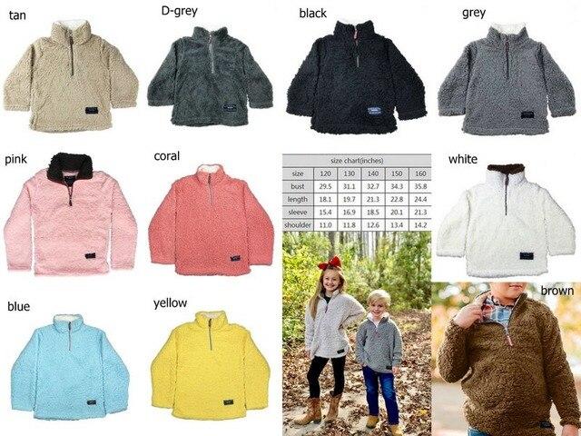 Детские пуловеры из искусственного меха; куртки для мальчиков и девочек; осенне зимние детские пальто