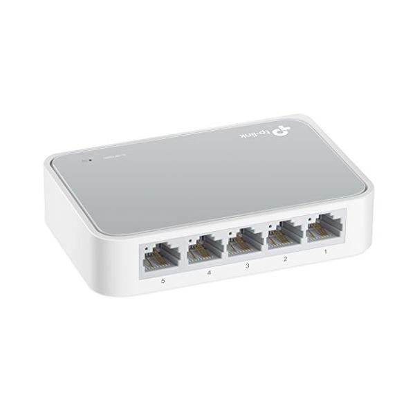 Desktop Switch TP-LINK TL-SF1005D RJ45 X 5 10/100 Mbps Plastic