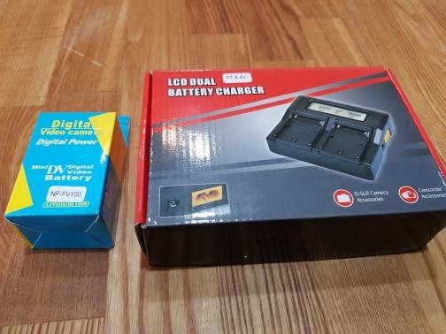 Baterias digitais Fdr-ax100e Fdr-ax100e Rápido
