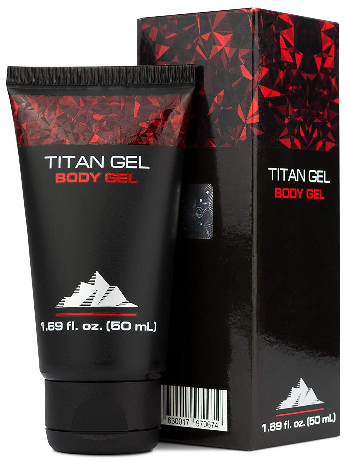 Titan Gel For Man Original Gold Body Gel For Male Enhacement And Enlargement Awakening Muscles With Tantric Massage – Jelly Gel