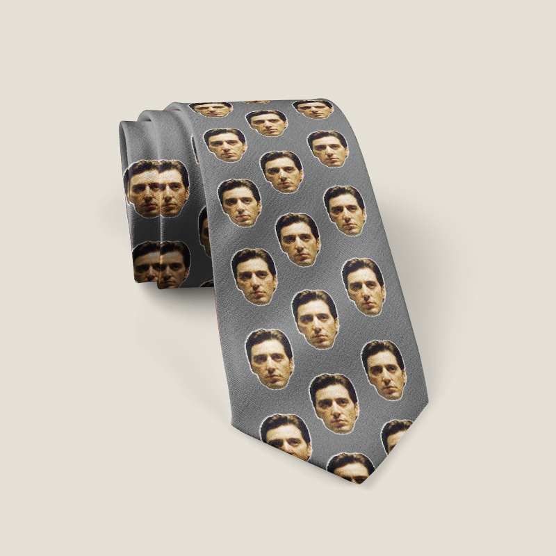 Custom Face Neck Ties/Custom Photo Ties/Custom Ties Personalized Ties/Custom Printed Ties/Picture Ties/Gift For Father And Baby