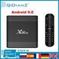 Приставка Смарт-ТВ X96 Air, Android 9,0, 4 + 32/64 ГБ, Amlogic S905X3, 8K x 4K, 2,4 ГГц