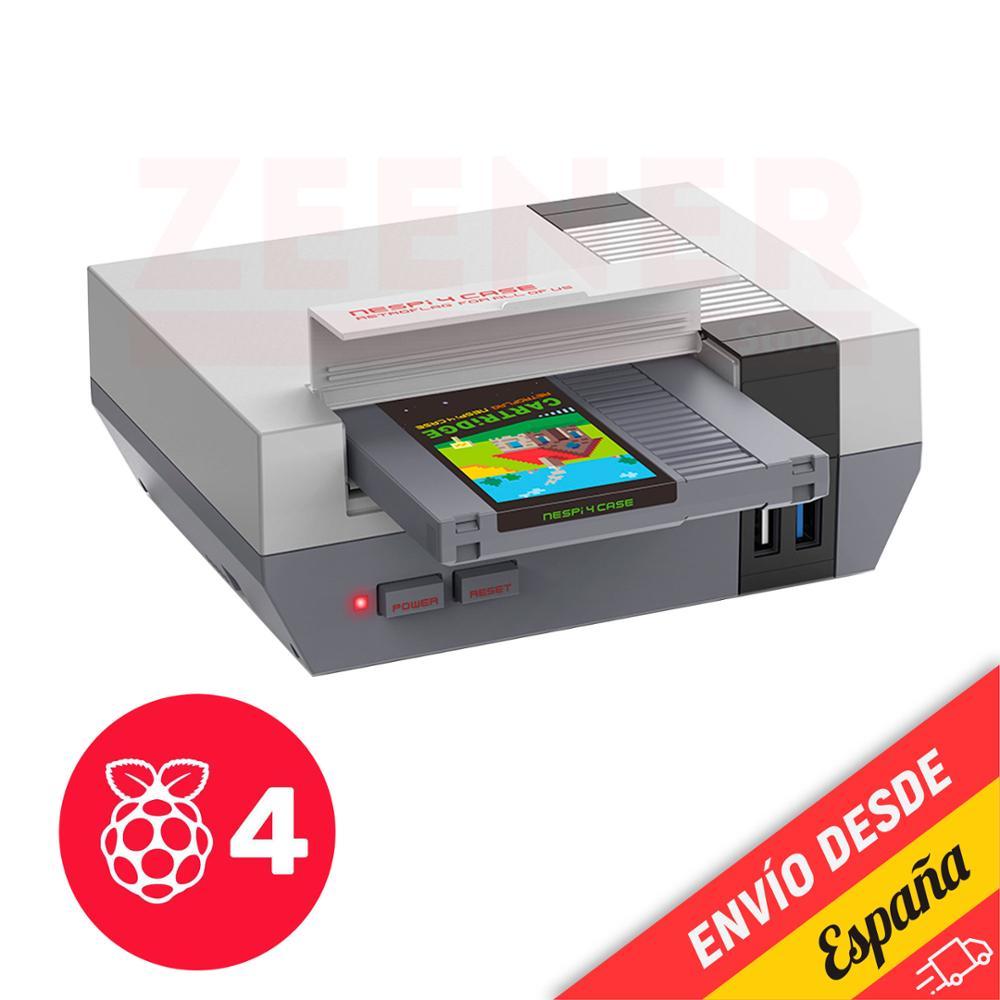 Чехол Retroflag NesPi 4-Nintendo NES style для Raspberry Pi 4 Retro Arcade Plaza Spain