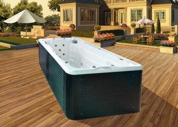 Jacuzzi de hidromasaje, piscina de SPA con estilo de moda para masajes después de trabajar BG-6602