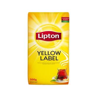 Turkey Lipton Yellow Label Bulk Black Tea 500 Gr