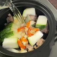 鲜美的冬瓜干贝虾仁汤的做法图解6
