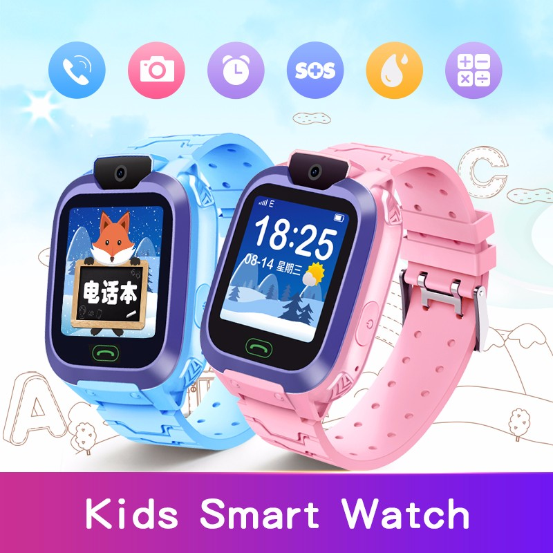C9 Smart Watches for Children Remote listening 2G SIM Card Phone Call LBS Positioning Clock With Camera baby Watch Phone reloj