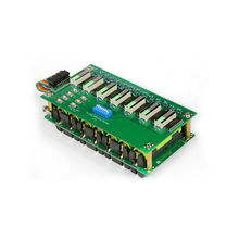 Светодиодный индикатор для батареи 7S, 20A 50A, Bluetooth, BMS, 7S, 18650, DIY, 7s