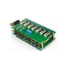 7S 20A 50A Bluetooth BMS 7S LED מחוון 18650 סוללה מחזיק BMS DIY 7s סוללה מחוון עבור 7S כוח קיר