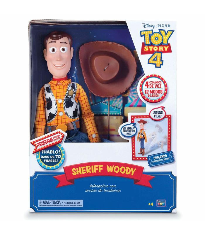 Toy Story 4 Woody Super Interactive Toy Store