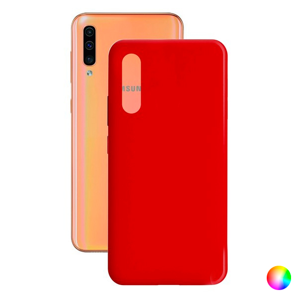 Mobile cover Samsung Galaxy A30s/a50 Contact Silk TPU|  - title=