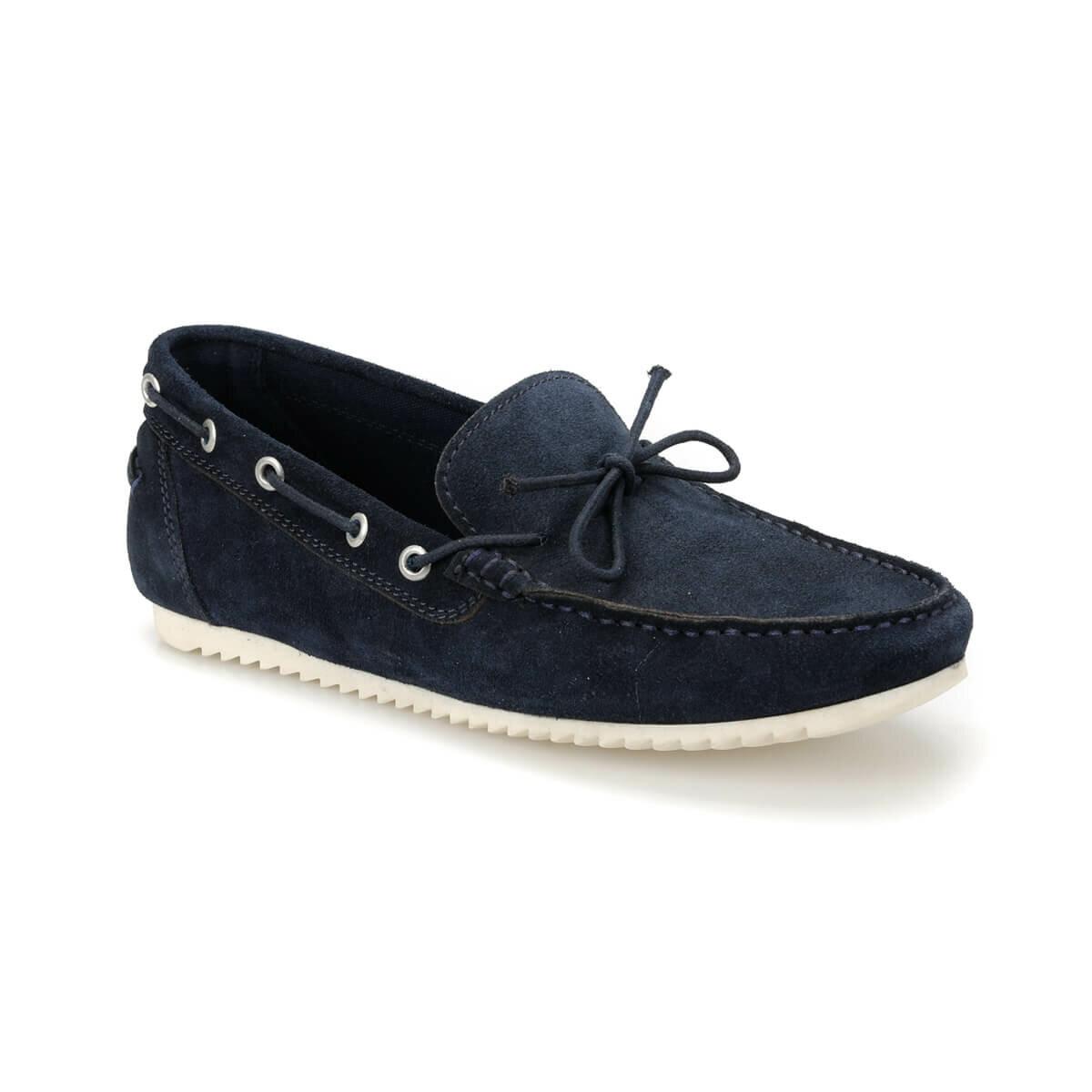 FLO CNR-291 Navy Blue Men 'S Shoes Forester