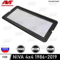 Filter mesh unter jabot für Lada Niva 1986-2019 kunststoff ABS schutz dekoration geprägte funktion auto styling zubehör