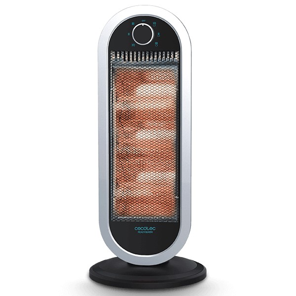 Halogen Heater Cecotec Ready Warm 7300 Quartz Sky 1200W White