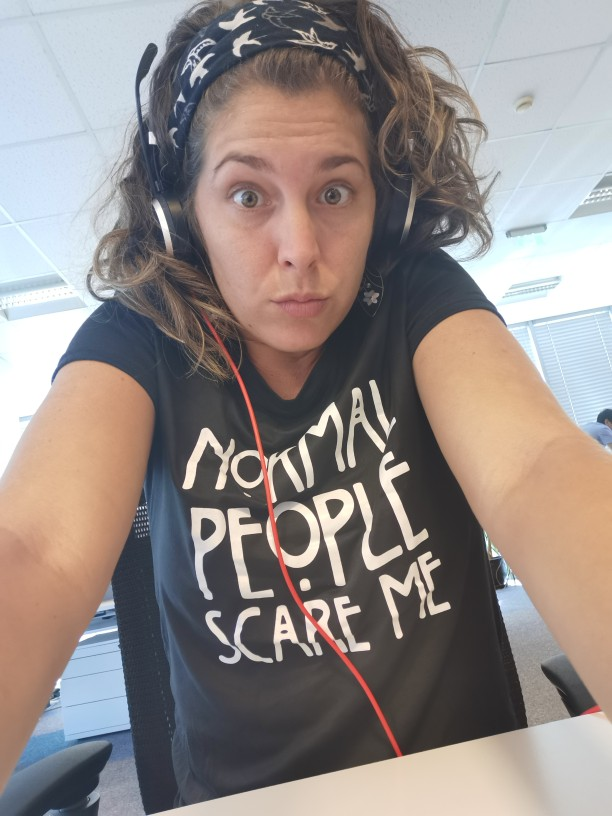 Normal People Scare Women's T-Shirt photo review