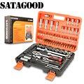 SATAGOOD Tool kit 94 item Gereedschap Hand tool set auto repair tool hand tool auto tool tool kit voor auto auto tool hoofd set gereedschap sets