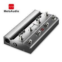 Средний ножной контроллер TS Mega 2 в 1 для гитары с аудио интерфейсом, USB для записи гитары для iPhone, iPad, устройств Android, Mac, пк
