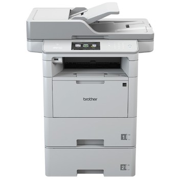 Multifunction Printer Brother MFCL6800DWT 46 ppm WiFi LAN NFC White