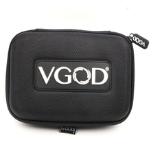 Dual Zipper vape Case Vape DIY Tool VGOD Bags for E Cigarette Mod PRM40 80 vinci x RDA RBA Tank Coil jig Pliers Accessories e cigarette vape support 18650 battery not included electronic cigarette box mod e cigarettes fit atlantis tank vs sucks cf mo