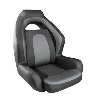 Ozark armchair soft, black/dark gray 1043224