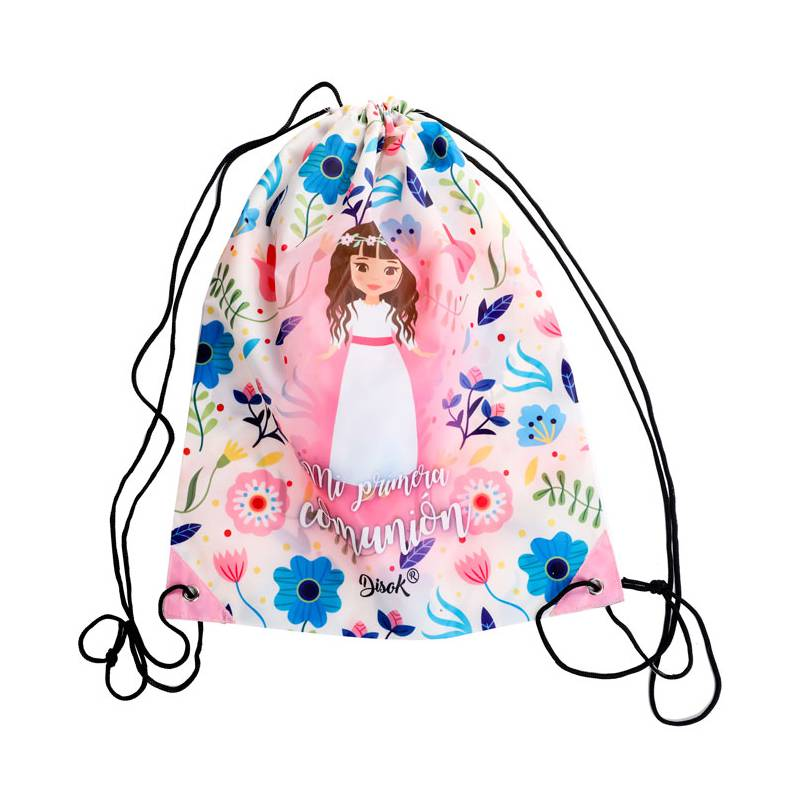 DRY BAG BACKPACK MY FIRST COMMUNION NIÑA-detalles And Gifts For Weddings, Christening Memories And Fellowship For Guests