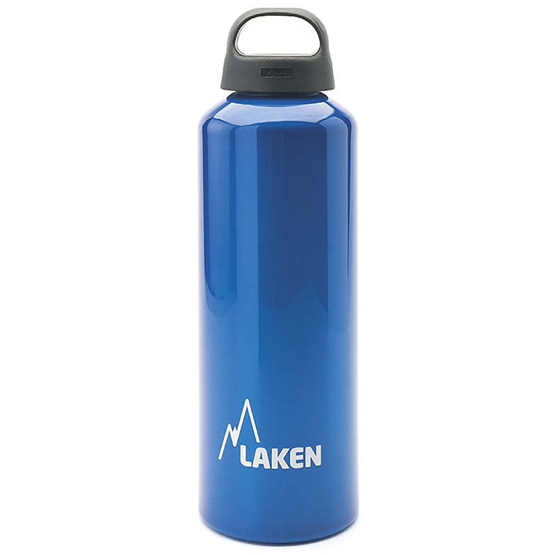 LAKEN Aluminum Water Bottle Classic 1 L. Blue
