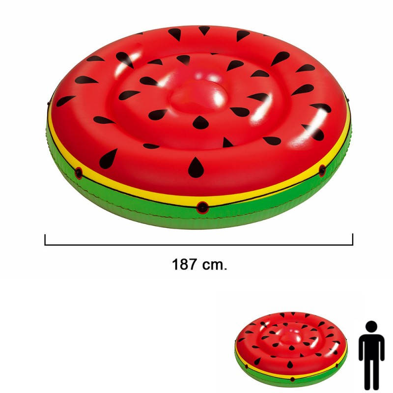 Float Giant Watermelon HOLE Ø 188 Cm.