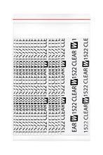 Walker bant 1522 temizle™Protez Saç Bandı Düz 1 ''x 3'' (2,5cm x 7,5cm) 36 Adet