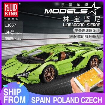 Mould König 13057 Techinc 18 Limborghinis Sischen FKP 37 Auto Modell Bausteine Ziegel Kinder DIY Pädagogisches Spielzeug Geburtstag Geschenke